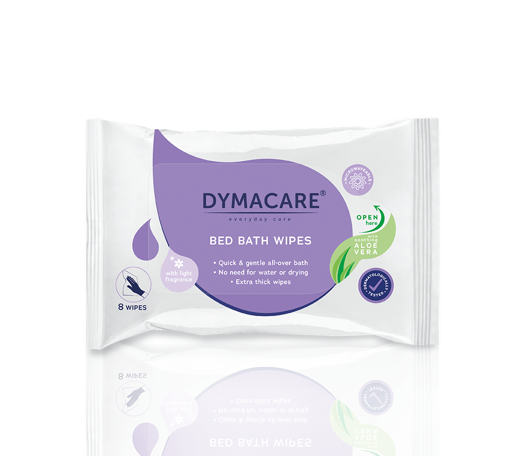 Dymacare Fragranced Bed Bath Wipes