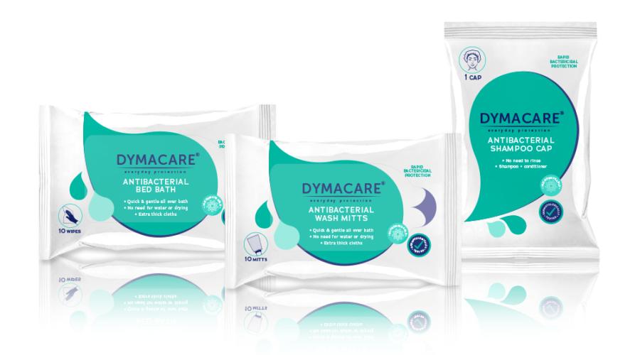 Dymacare® Antibacterial Bathing Range